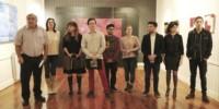 Presentes. Los expositores cuyos trabajos integran la muestra colectiva inaugurada en el MMAV de Trelew.