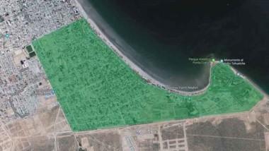 Serviccop difundió un mapa de la zona afectada por el corte de agua.