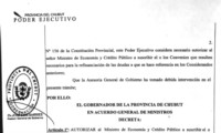 El DNU no pudo evitar el primer descuento de 60 millones de pesos.