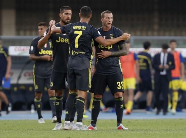 En el debut de Cristiano Ronaldo, Juventus vence al Chievo Verona pero el portugués no marcó.