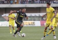 CR7 jugó su primer partido oficial con la casaca del equipo de Turín.