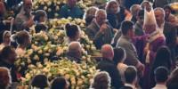 En un multitudinario velatorio, toda Italia despidió a las víctimas del derrumbe del puente en Génova.