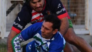 Martín Pes fue la figura del partido marcando 3 tries. Con su velocidad y cambio de paso complicó siempre.
