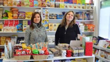 Romina Lugo (Trelew) y Silvia Villella, propietaria de dicha marca.