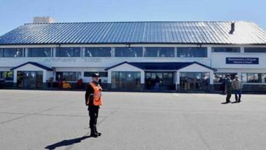 Postal. Una imagen del Aeropuerto que sigue sin ninguna obra.