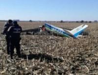 La aeronave cayó sobre una plantación en el interior de Córdoba.