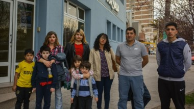 Dirigentes, familiares y allegados al club Mar-Che, se acercaron a Jornada para agradecer el apoyo en la realización del festejo por el Día del Niño.