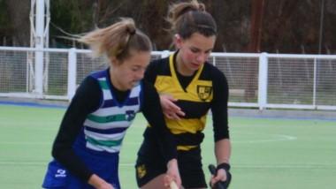 Trelew RC y Patoruzú jugaron el clásico en juveniles, el pasado sábado.
