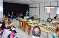La actividad del ajedrez como herramienta de inclusión que se realizó en Trelew, ahora llega a Puerto Madryn.