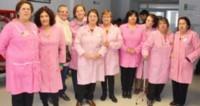 El Voluntariado de Damas Rosadas tiene como misión colaborar con el equipo de salud del Hospital.