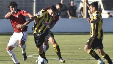 Deportivo Madryn, el único representante chubutense en la divisional. Compite allí desde el año 2014.