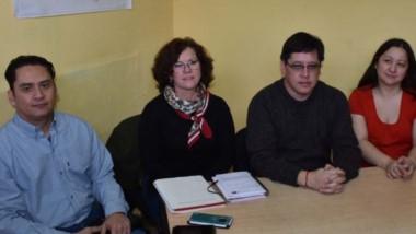 Agenda. Los funcionarios brindaron detalles de las actividades programadas en el Gimnasio Municipal.