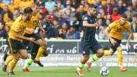 Gran resultado para Wolverhampton que jugó inteligente, aguantó los embates  del Manchester City y logró sacar el empate 1-1 en el Molineaux Stadium.