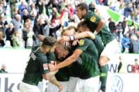 En uno de los mejores partidos de la jornada, el Wolfsburgo fue muy superior al Schalke 04.