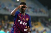Dembélé hizo el gol de la victoria. Partido durísimo para los