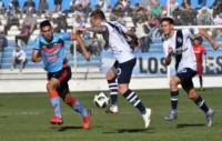 En un partido equilibrado, la visita encontró el gol y se llevó la victoria para Adrogue´.