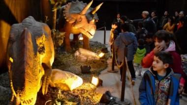 Los trelewenses ya pueden visitar la muestra de dinosaurios animados. Estarán hasta el 2 de septiembre.