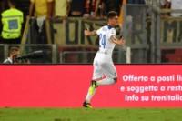 Emiliano Rigoni marcó un doblete en la igualdad de su equipo, Atalanta, contra Roma.