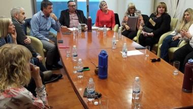 En un próximo encuentro buscarán analizar junto al gobernador las obras en el Presupuesto Nacional.