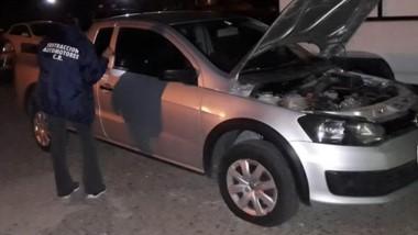 La División Sustracción de Automotores de la Policía del Chubut corroboró físicamente el rodado.