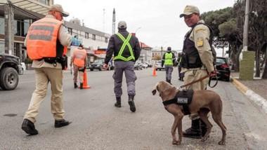 El personal de Prefectura se sumó a las tareas de prevención en la calles de la ciudad del Golfo.