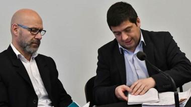 Unidad Anticorrupción. Rodríguez (izquierda) y Williams, los dos fiscales del caso contra Pablo Korn.