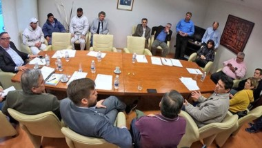 Los trabajadores de Soriano fueron hasta la Legislatura para reclamar por la continuidad laboral.