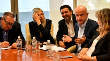 Los diputados se reunieron ayer nuevamente con Garzonio para ultimar los detalles de la ley aprobada.