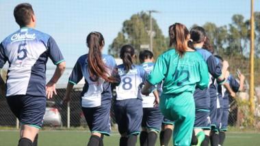 El fútbol femenino fue incorporado en los Juegos de la Araucanía.