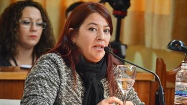 Florencia Rossi, concejal de Cambiemos de Trelew.