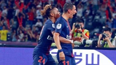 PSG conquista la Supercopa de Francia ante Mónaco con goles de Di María (x2), Nkunku y Weah.