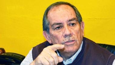 Rubén Villagra, titular de la Cámara de Comercio de Trelew.