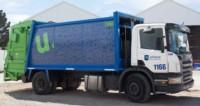 Recolección. Un vehículo de Clear Urbana, la empresa que según la Justicia no cumplió con el contrato.