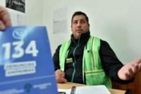 Cristian Peña, jefe de Operativo de Guardia Urbana de Trelew. Pidió que la gente denuncie a la línea 134.
