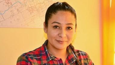 La subcomisario Valeria Luna está a cargo de la División Trelew de Búsqueda de personas de la Policía.