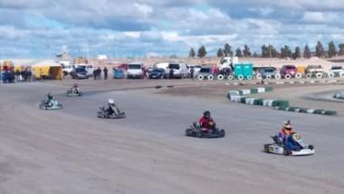 Ayer se desarrolló la quinta fecha del karting de tierra en el circuito de la ciudad de Puerto Madryn.