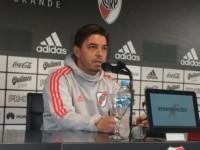 """Gallardo: """"El equipo que juegue ante Racing será el mismo que lo viene haciendo en Copa Argentina""""."""