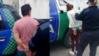El violento y su mujer son arrestados por la policía de mar del Plata. ( Diario Nuevo Día)