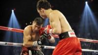 """""""Maravilla"""" Martínez aceptó el desafío de Chávez Jr. y le puso fecha a la revancha: ¿regresa al boxeo profesional?"""