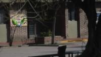 Frente del colegio católico. Ignacio Blanco / Los Andes