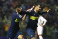 Mauro Zárate concluyó una impecable jugada y anotó el 2-0 definitivo de Boca ante Libertad en la Libertadores.