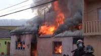 Los cuerpos sin vida de los niños, de 3, 5, 7 y 13 años fueron hallados por bomberos que concurrieron a extinguir el incendio.
