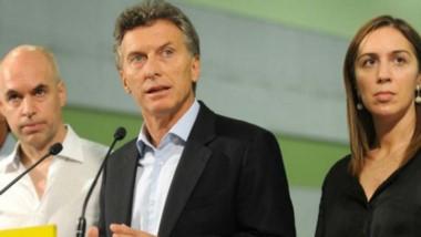 Macri se reunió ayer con Vidal y Rodríguez Larreta para tener su opinión sonre la marcha de la economía.