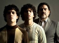 Los actores Nicolás Goldschmidt, Nazareno Casero y Juan Palomino en la piel del