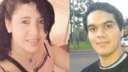 Natalia Samaniego, de 22 años y su novio, identificado como Juan Martín Carlegui, de 25 años. (Foto: Clarín)