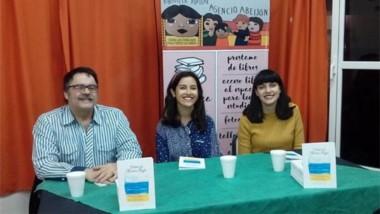 Sergio Pravaz, Iara Arza y Saira Chaina presentarán el nuevo  libro.