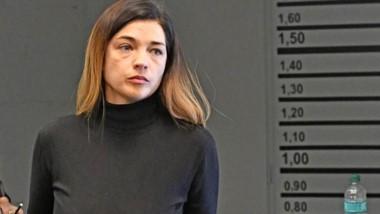 Presa. Natalia Mac Leod, de nuevo protagonista en una audiencia en la Oficina Judicial de Rawson.