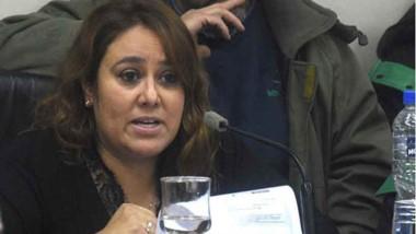 Andrea Moyano, concejala por el bloque PJ-FPV.