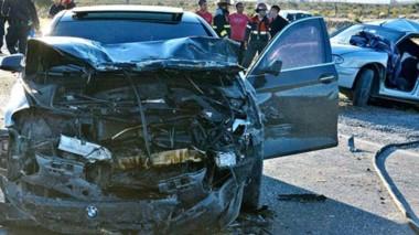 Un accidente de consecuencias trágicas. Uno de los lamentables accidentes fatales que dejó la semana, en este caso sobre la Ruta 25.