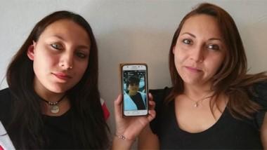 Romina y Yanina Fredes, las dos chicas que, cargadas de esperanzas, buscan a su mamá.